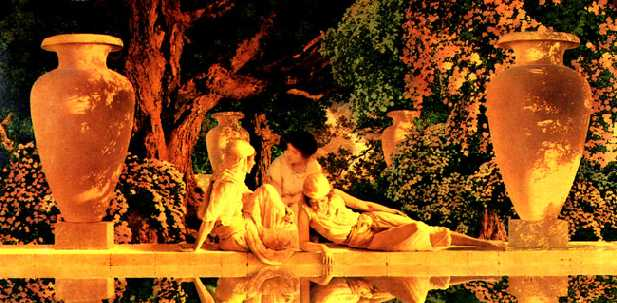 The Garden of Allah -- by Maxfield Parrish
