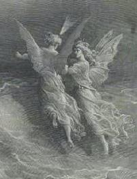 Angels by Gustave Dore -- Guides for ethical decisions