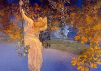Reveries -- by Maxfield Parrish