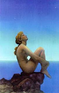 Stars -- by Maxfield Parrish