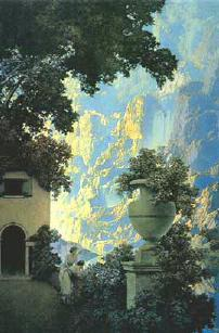 Sunrise by Maxfield Parrish