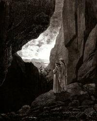 The Way to the Upper World by Gustave Dore